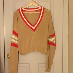 Urban Outfitters Sweaters - Urban Outfitters  Kristen varsity vneck sweater